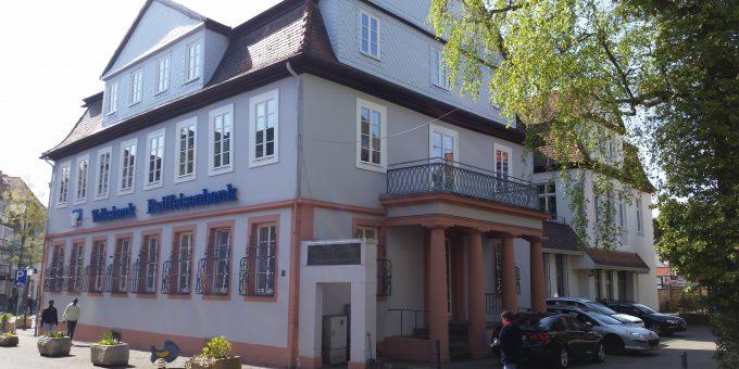 Umbau und Sanierung der VR-Bank Geschäftsstelle Rotenburg