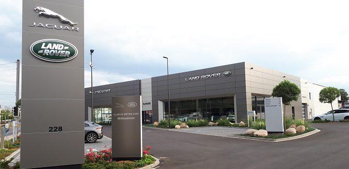 Fertigstellung Jaguar/Land Rover in Kassel