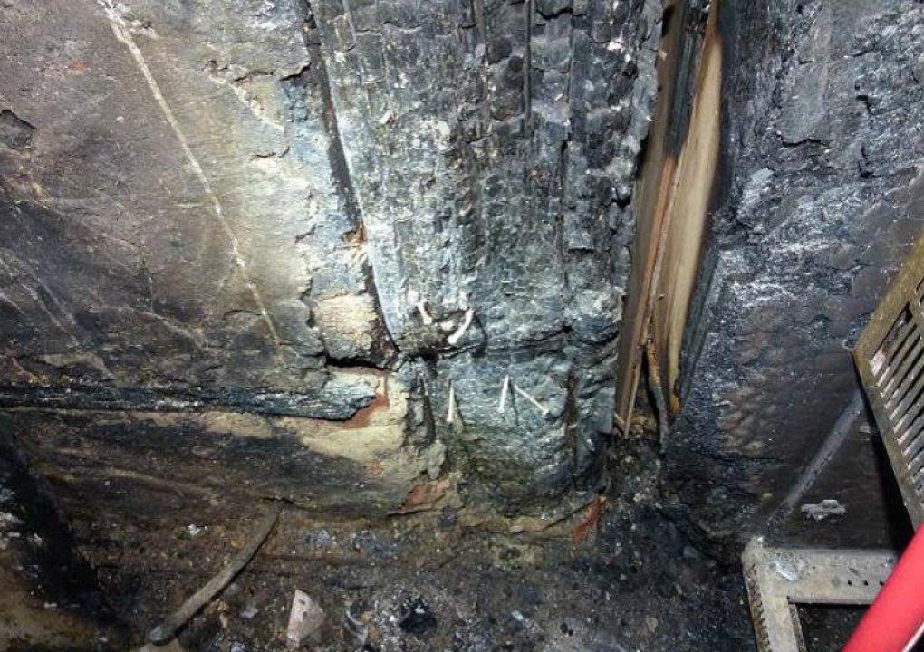 Brandschaden Gasthaus