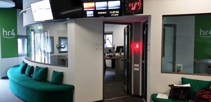 Erneuerung Hörfunkstudio Kassel