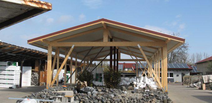 Errichtung Lagerhalle Fritzlar
