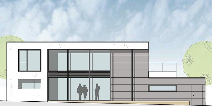 Neubau Einfamilienwohnhaus in Passivhausweise in Lohfelden