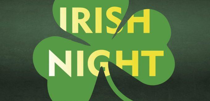 Sponsoring 5. Irish Night
