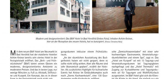 Artikel Erweiterung Parkhaus Bad Hersfeld