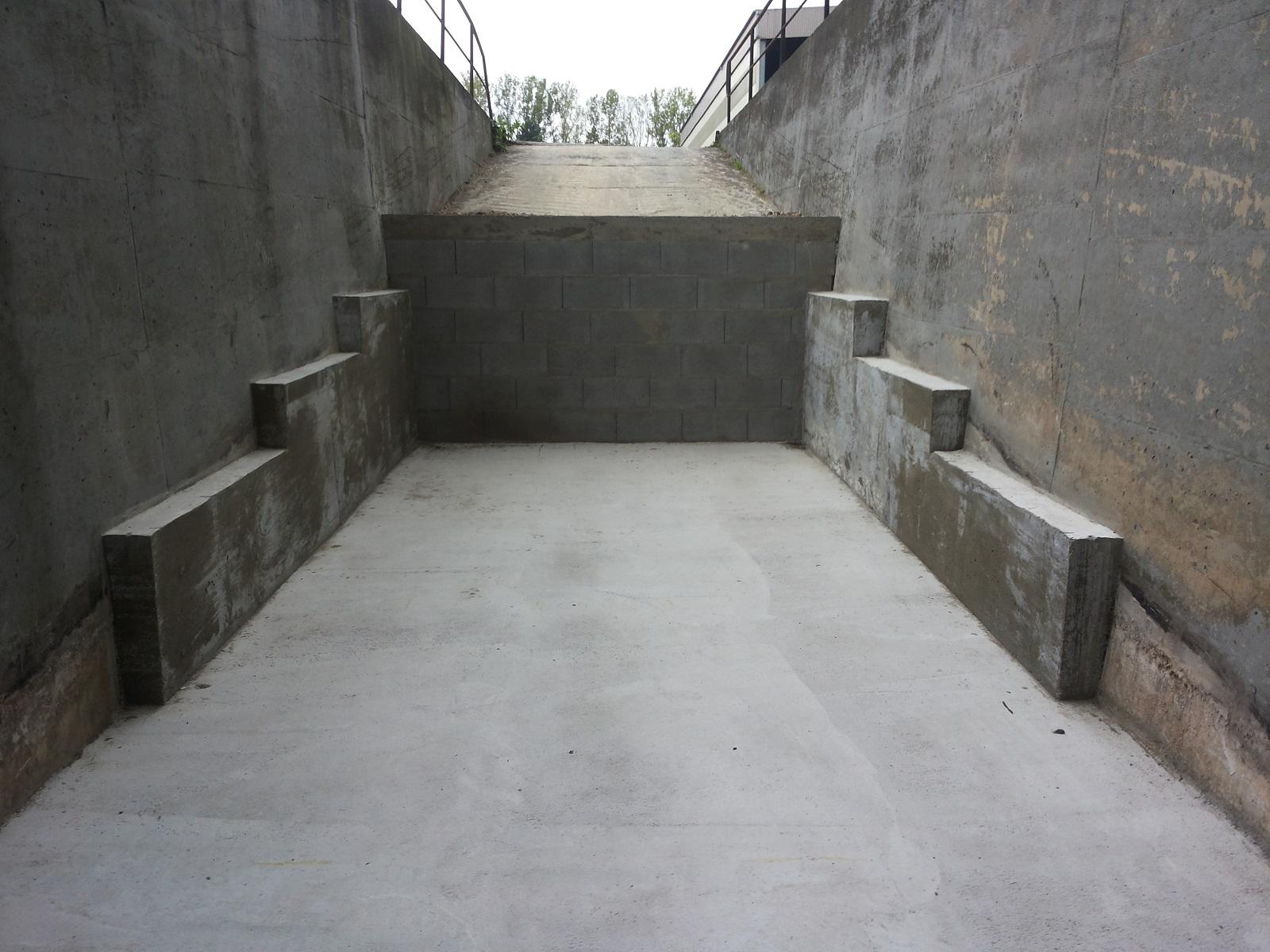 Umbau Rampe Kraftwerk