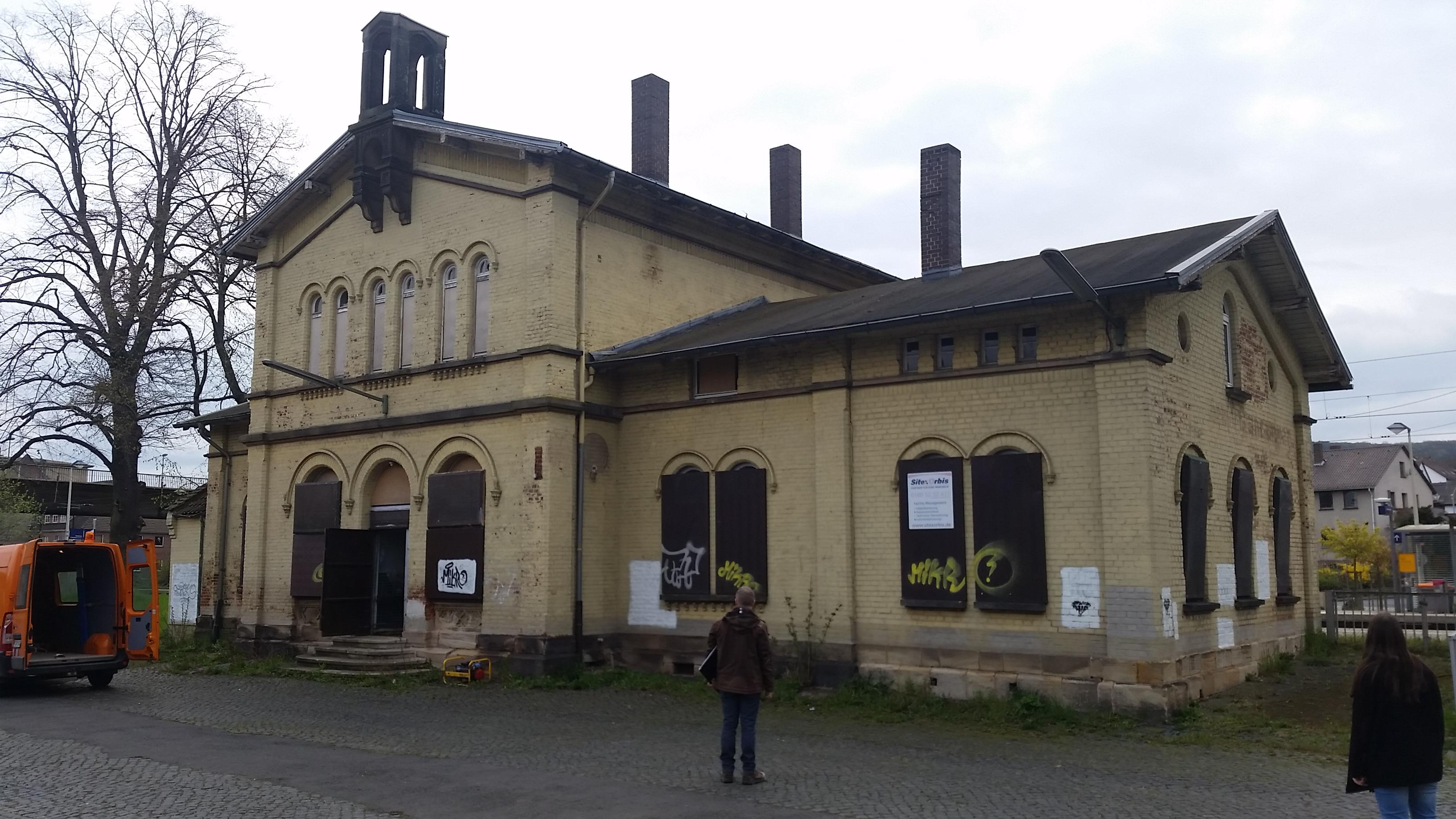 Sanierung Bahnhof Gensungen
