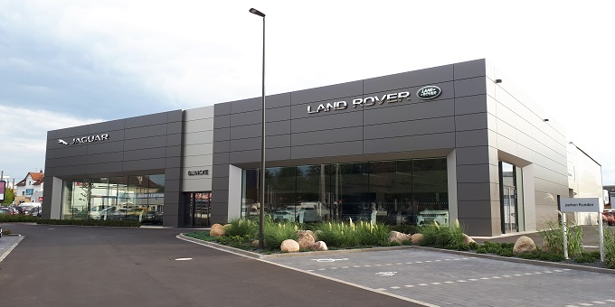 Neubau Glinicke Jaguar/Landrover