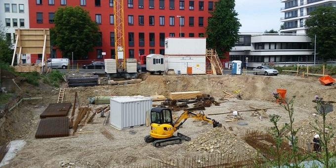 Baubeginn MFH Kölnische Straße Kassel