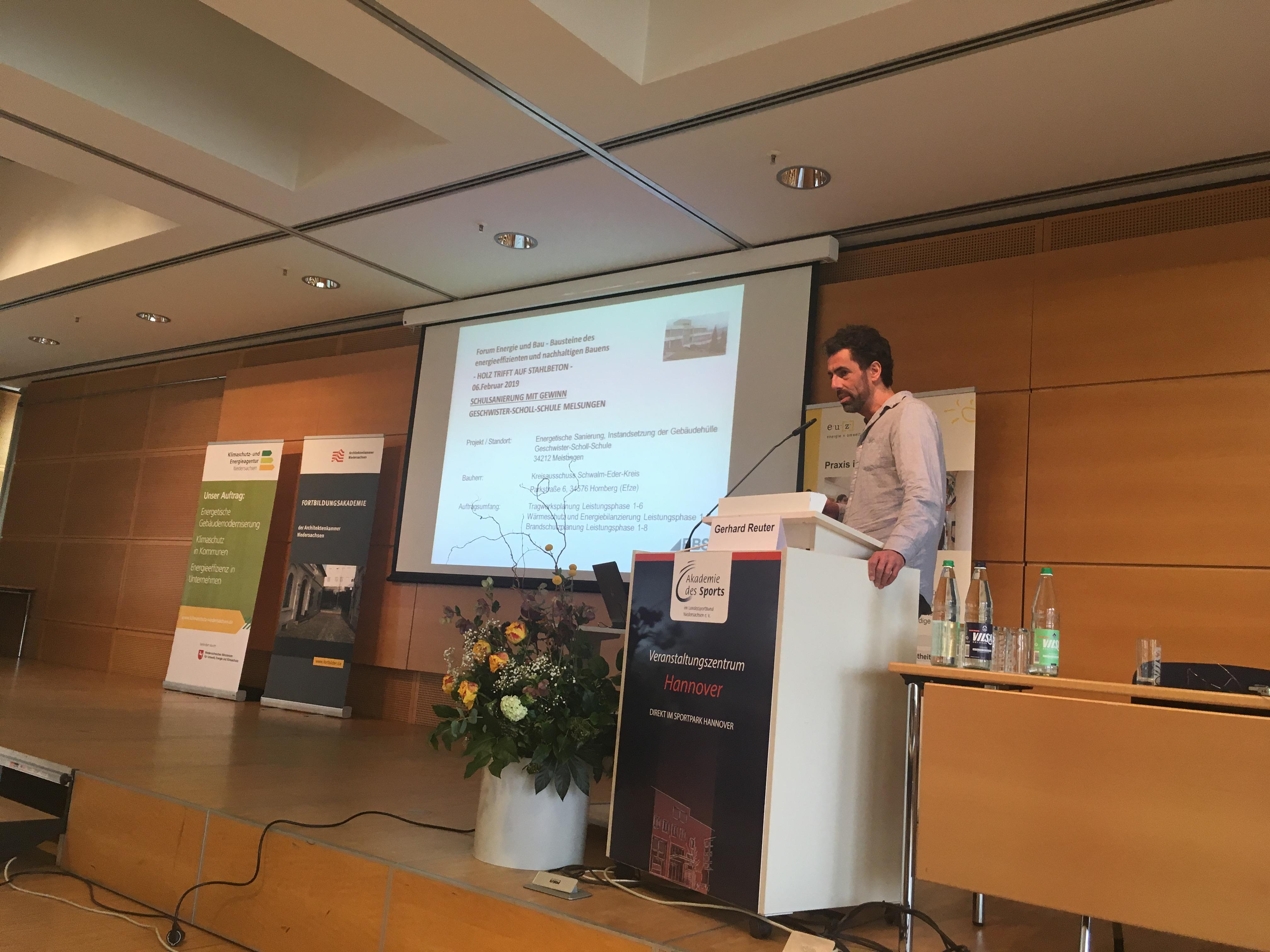 Vortrag im Forum Energie und Bau