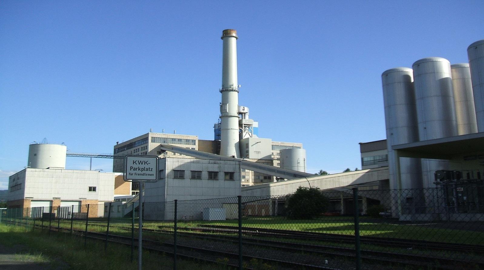 Ertüchtigung Hofdecke Kraftwerk Kassel