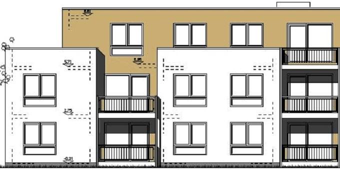 Neubau 21-Familienhaus Baunatal