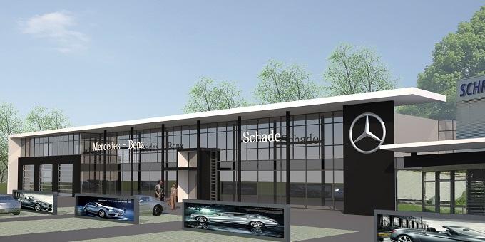Erweiterung Autohaus Eisenach