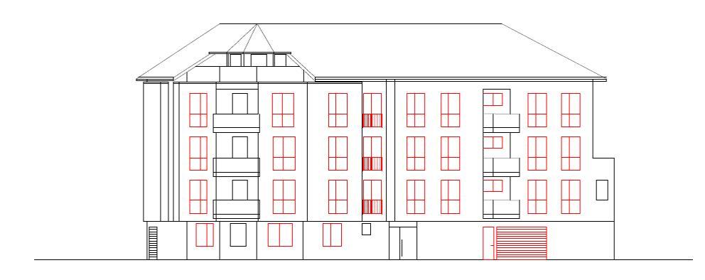 Neubau eines Mehrfamilienhauses (12 Wohnungen) mit Garagen in Ludwigshafen