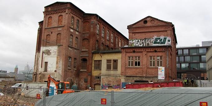 Baubeginn Kopfbauten Uni Kassel