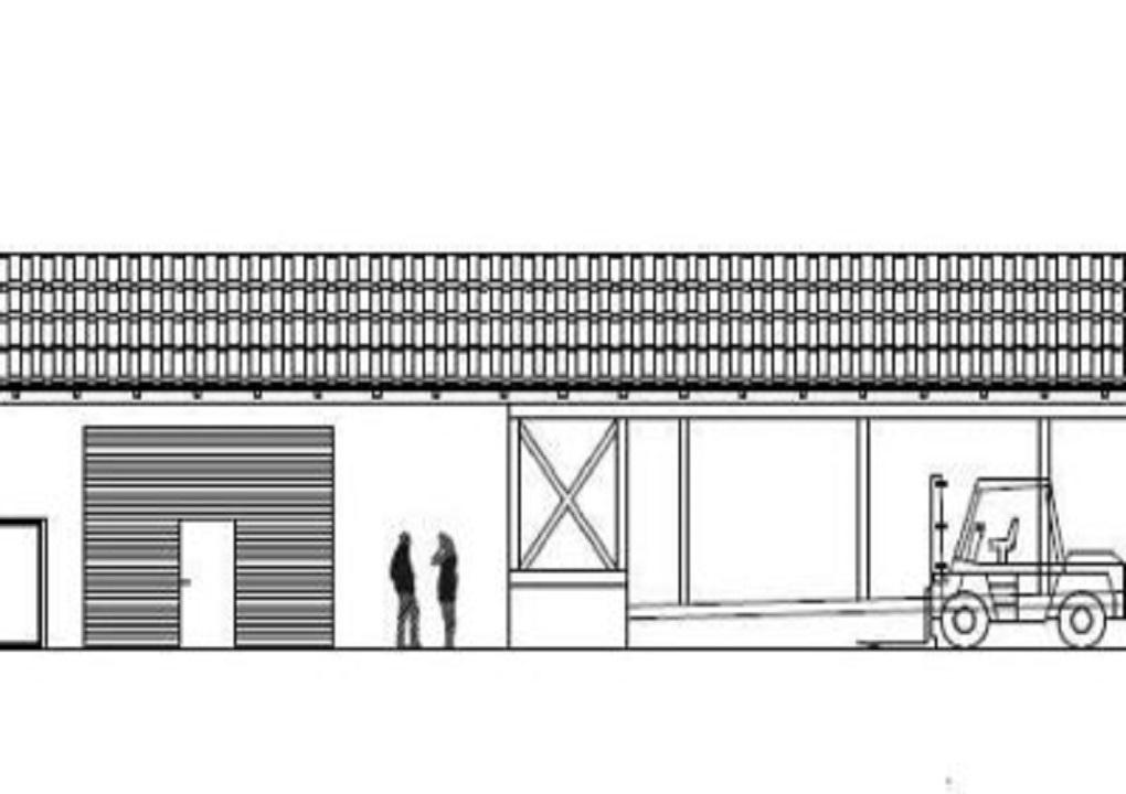 Neubau Lagerhalle Naumburg